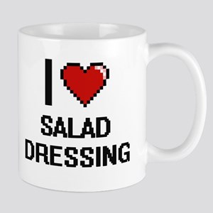 I Love Salad Dressing Digital Design Mugs